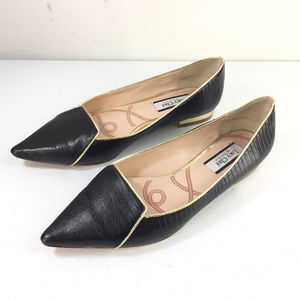 Lucy Choi London 37 7 black ballet flats pointed